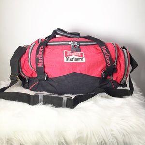Marlboro VTG Duffle Bag Fanny Pack Combo